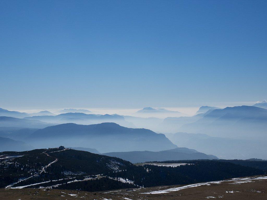 Nebel vom Rittnerhorn